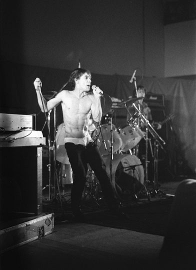 Iggy Pop 1979. Photo by Tim Duncan.