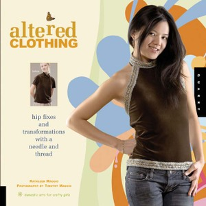 Book Cover of Altered Clothing by Kathleen Maggio.