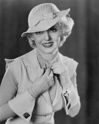 Bette Davis in white.