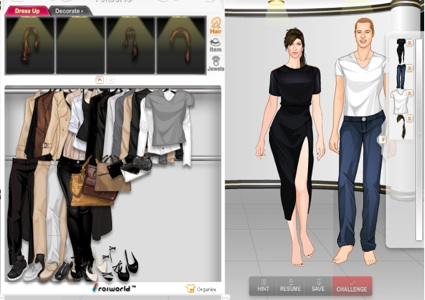New fashion games roiworld dress
