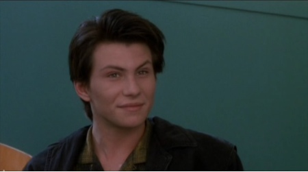 Young Christian Slater as J.D.