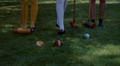 Croquet in Heathers.