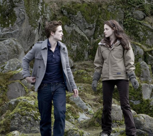 Bella Swan and Edward Cullen.