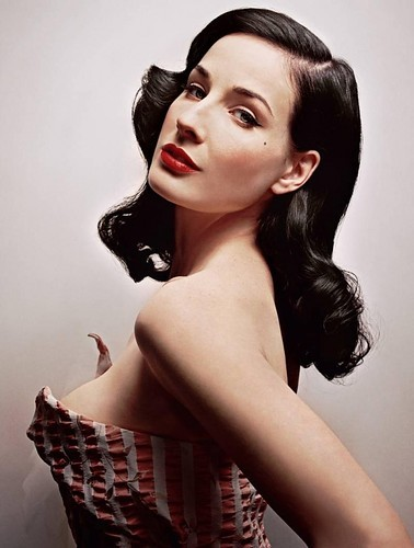 Dita Von Teese. Photographer unknown.