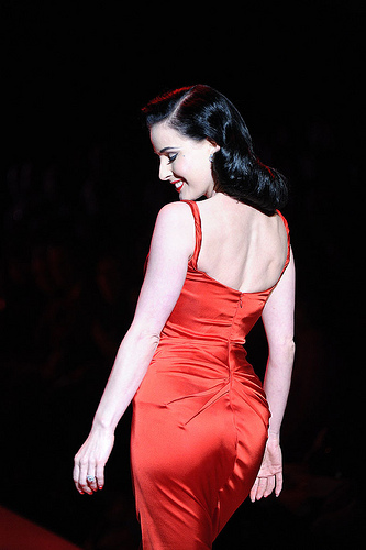 Dita Von Teese. Photo by Vivanista.