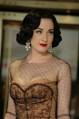 Dita Von Teese photo by Mireille Ampilhac