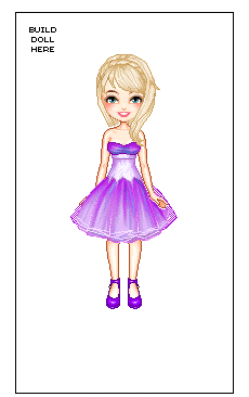 Screenshot from Dollz Mania's Celebrity Dress up game.