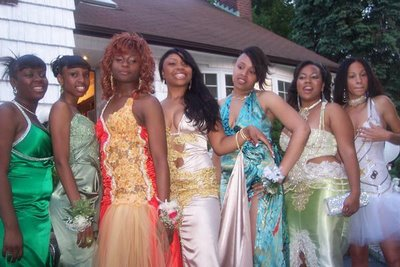 Black Prom Hairstyles on Ghetto Prom Dresses