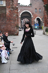 Goth dress. Photo by Saray Nevery.