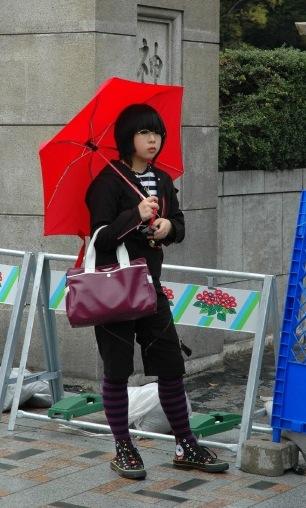 Harajuku girl. Photo by Jay Bergesen.