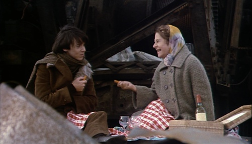 Harold and Maude at the junkyard