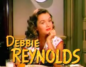 Debbie Reynolds in I Love Melvin. In the 1950s, curly hair was in fashion.