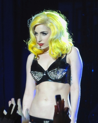 Lady Gaga in Perth, Australia. Photo by Michael Spencer.