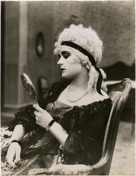 Pola Negri as Madame DuBarry.