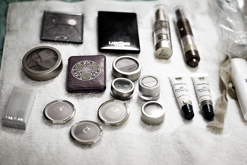 Makeup palette. Photo by Corey Balazowich.