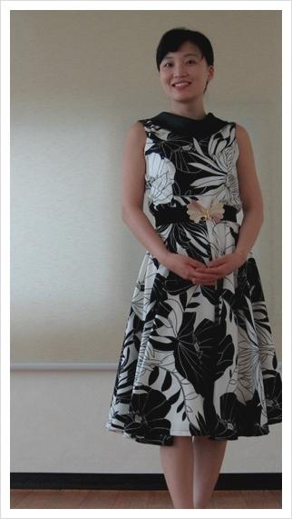 Summer dress. Photo by Marley.