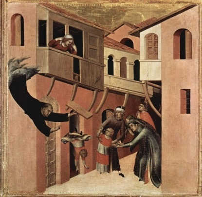 Painting by Simone Martini.