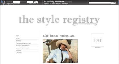 Styleregistry