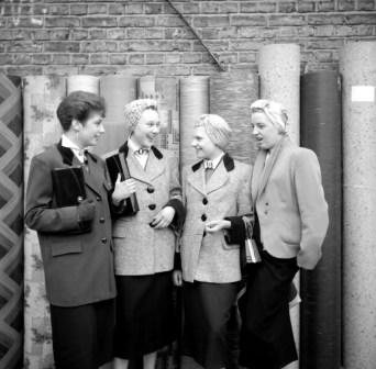 A group of Teddy Girls. Photo by Ken Russell.
