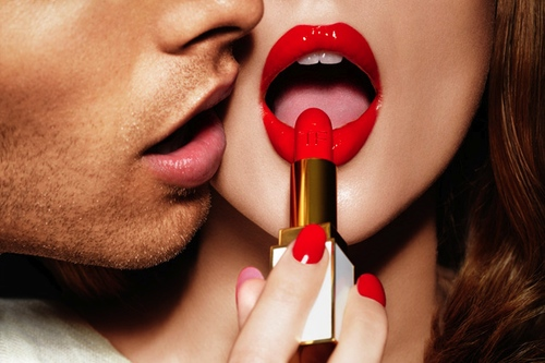 Tom Ford's lipstick ad.