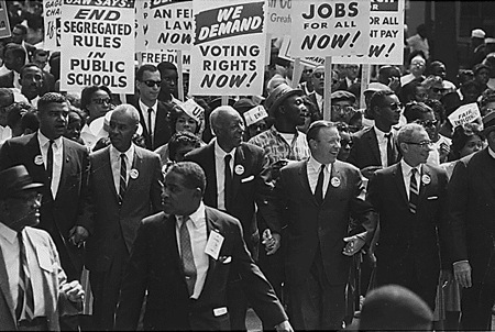 From the 1963 March on Washington.