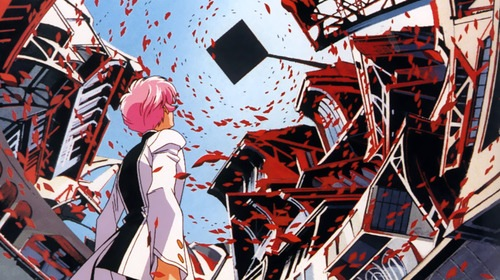 Utena and architecture.