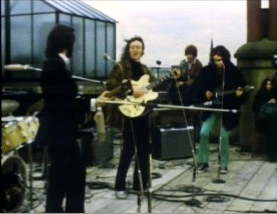 The Beatles last concert on January 30, 1969.