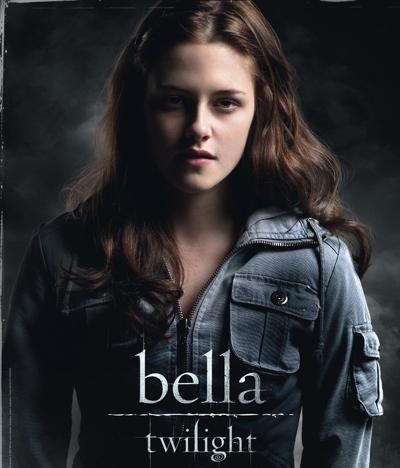Kristen Stewart as Isabella Swan.