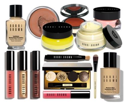 Bobbi Brown Cosmetics, Bobbi Brown makeup.