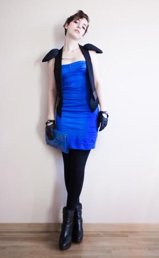Kind of blue...Charlotte Rouge.
