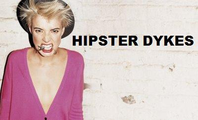 Logo for Hipster Dykes.