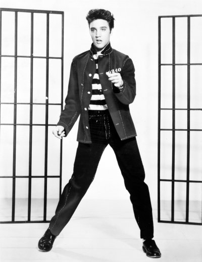 Elvis Presley plays the hardboiled criminal, with mixed success.