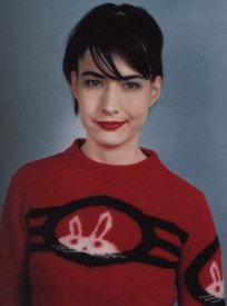 Kathleen Hanna, author of the Riot Grrrl Manifesto.