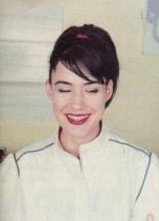 Kathleen Hanna smiles.
