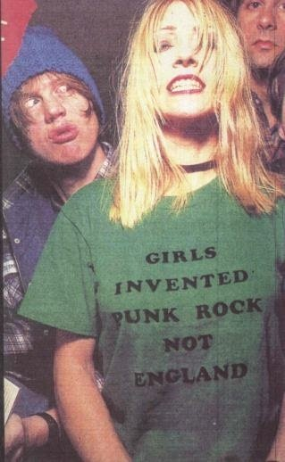Kim Gordon of Sonic Youth.