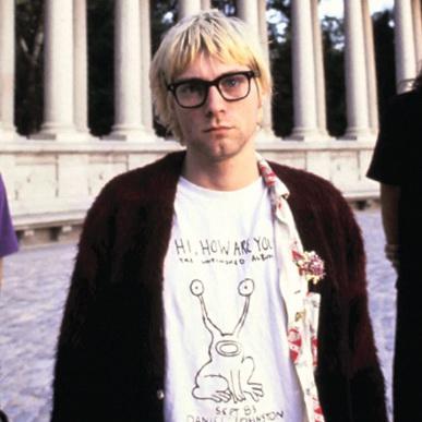 Kurt Cobain. Source unknown.
