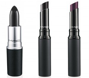 MAC's black lipsticks.