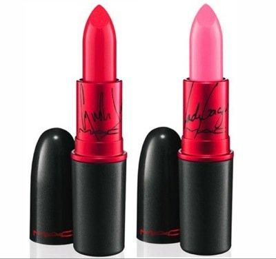 MAC Viva Glam lipstick in Lauper and Gaga