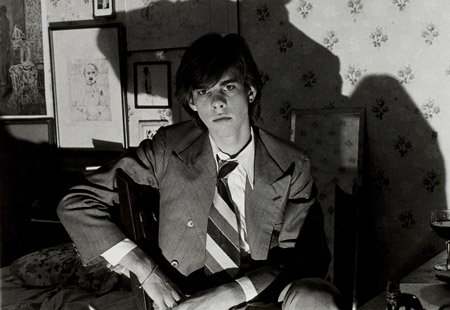 Nick Cave as a very young man. Source unknown.