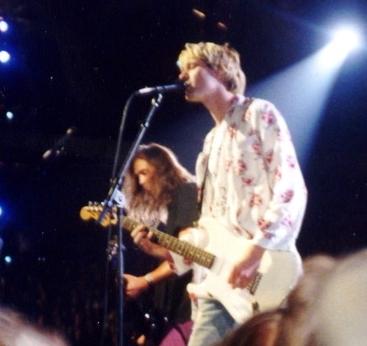 Nirvana in 1992. Photo by P.B. Rage.