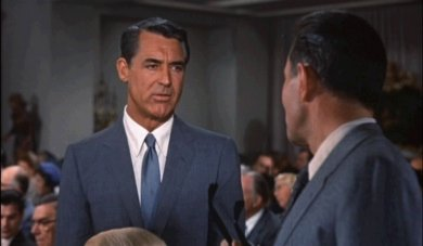 Cary Grant and James Mason in North by Northwest.